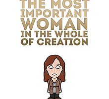 Donna Noble (card/print) by redscharlach