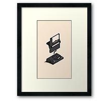 ElectroVideo Megadrive/Genesis (Black) Framed Print