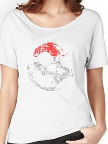 Death Star Pokeball Women's Relaxed Fit T-Shirt