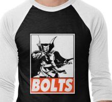 Dr. Strange Bolts Obey Design Men's Baseball ¾ T-Shirt