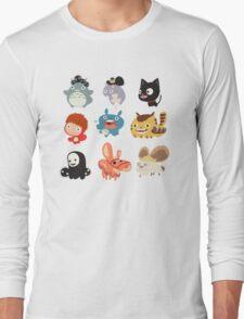 all caracter studio gibli Long Sleeve T-Shirt