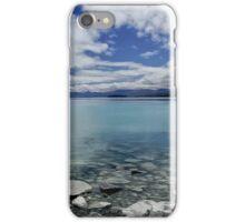 Into Lake Tekapo, New Zealand iPhone Case/Skin