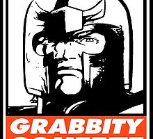 Magneto Grabbity Squeeze Obey Design by SquallAndSeifer