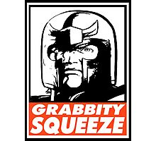 Magneto Grabbity Squeeze Obey Design Photographic Print