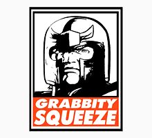 Magneto Grabbity Squeeze Obey Design Men's Baseball ¾ T-Shirt