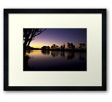 Sardine Flat on the Tambo River Framed Print