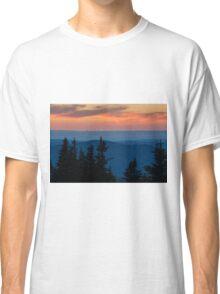 Dusk on the Berkshires From Mount Greylock, Massachusetts. Classic T-Shirt