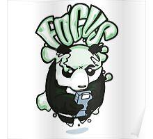 Focus Panda Poster