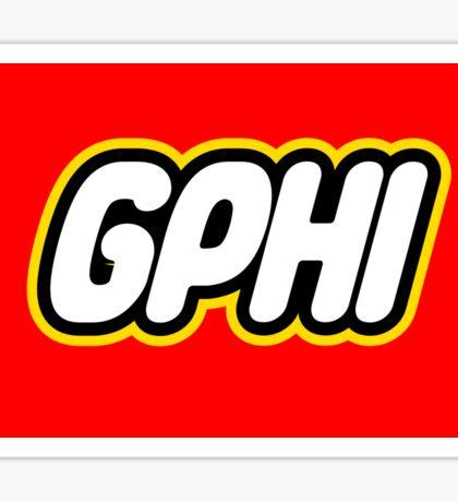 Gphi Lego Sticker