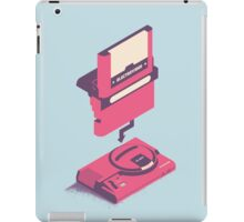ElectroVideo Megadrive/Genesis (Pink and Blue) iPad Case/Skin