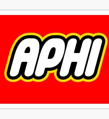 Aphi Lego Sticker
