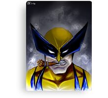 Logan Headshot  Canvas Print