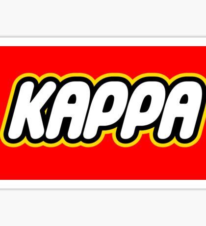 Kappa Lego Sticker