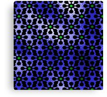 Pattern Green Blue Canvas Print