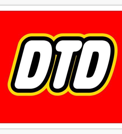 DTD Lego Sticker