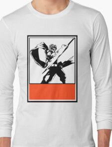 Srider Hiryu Obey Design Long Sleeve T-Shirt