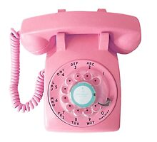 call me (pink) by 7colour