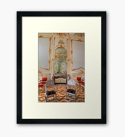 Inside decoration III (Esterházy Palace) Framed Print