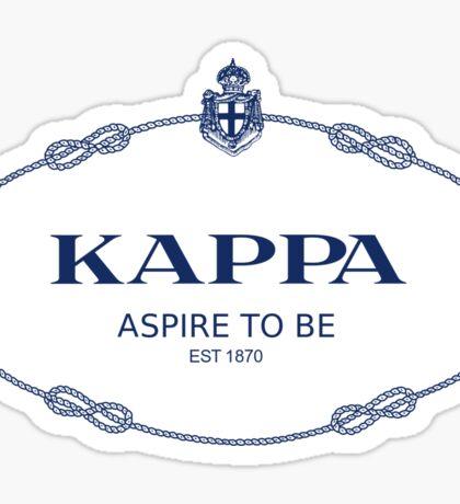 Kappa Prada Sticker