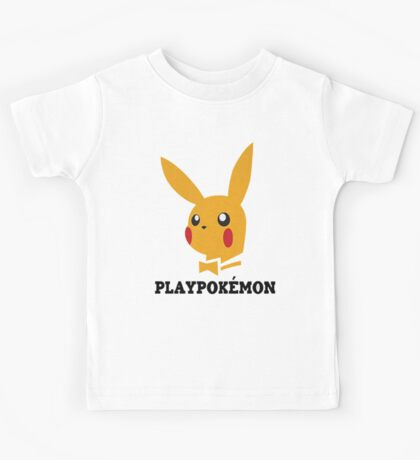 Playboy-Pokemon Kids Tee
