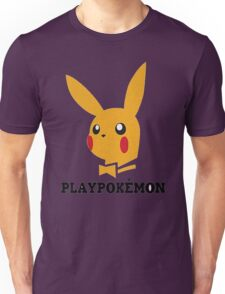 Playboy-Pokemon Unisex T-Shirt
