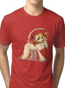 Cheeky Meowth Tri-blend T-Shirt