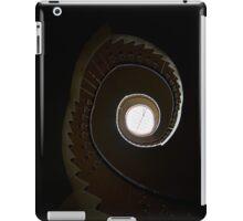 Dark spiral staircase iPad Case/Skin