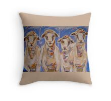 The Girls from Paddy's River Throw Pillow