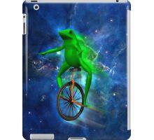 dat boi space shirt (high resolution) iPad Case/Skin