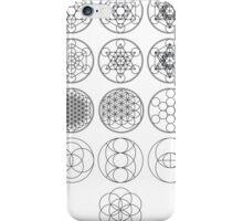 13 Circles   Sacred Geometry iPhone Case/Skin