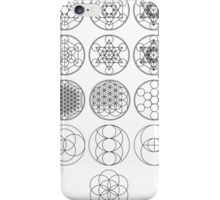 13 Circles | Sacred Geometry iPhone Case/Skin