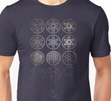 13 Circles [Tight Cluster Galaxy] | Sacred Geometry Unisex T-Shirt