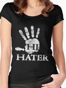 hi hater Women's Fitted Scoop T-Shirt