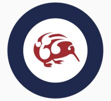 Kiwi Air Force Roundel by piedaydesigns