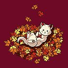 Autumn Cat by Stephanie Jayne Whitcomb