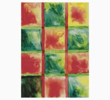 Painted Squares Art Baby Tee