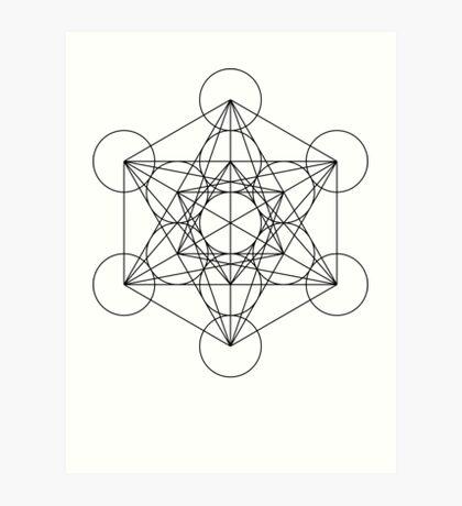 Metatron's Cube | Sacred Geometry Art Print