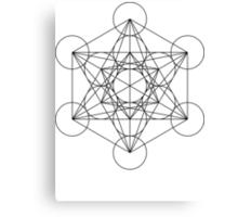 Metatron's Cube | Sacred Geometry Canvas Print