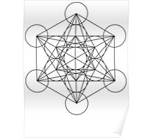 Metatron's Cube | Sacred Geometry Poster