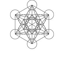 Metatron's Cube | Sacred Geometry Photographic Print
