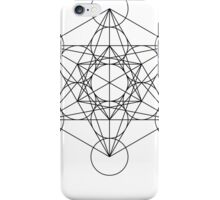 Metatron's Cube | Sacred Geometry iPhone Case/Skin