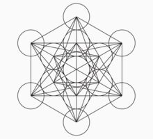 Metatron's Cube | Sacred Geometry T-Shirt