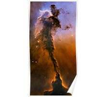 Hubble Space Telescope Print 0024 - The Eagle Has Risen - Stellar Spire in the Eagle Nebula  - hs-2005-12-b-full_jpg Poster