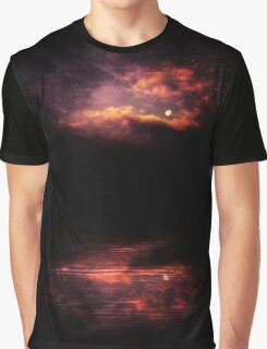Night Sky and River 3 Graphic T-Shirt