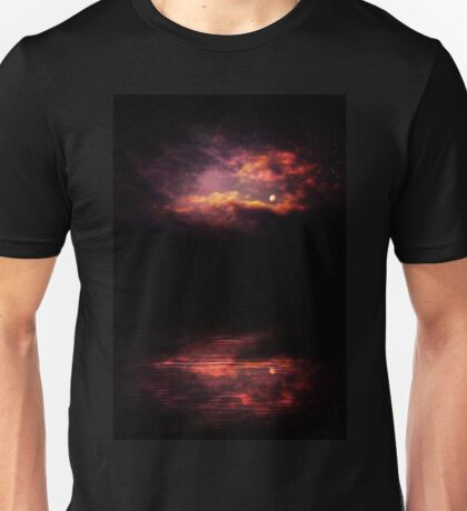 Night Sky and River 3 Unisex T-Shirt