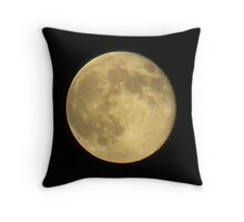 The Man In The Moon Throw Pillow