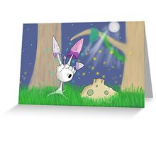 Spores at Twilight Greeting Card