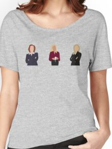Gillian Anderson - TV Characters // Minimalist Women's Relaxed Fit T-Shirt