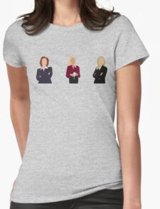 Gillian Anderson - TV Characters // Minimalist Womens Fitted T-Shirt