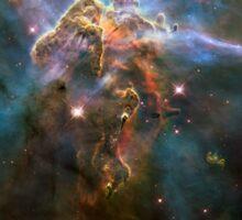 Hubble Space Telescope Print 0022 - Wide View of 'Mystic Mountain'  - hs-2010-13-e-full_jpg Sticker